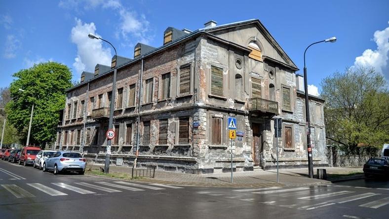 Pałacyk Konopackiego jest obecnie w złym stanie technicznym