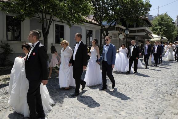 Kolektivno venčanje je i dalje u modi