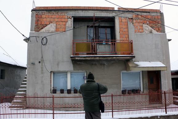 Kuća u Ulici Nikole Tesle gde je ubijen Filipović