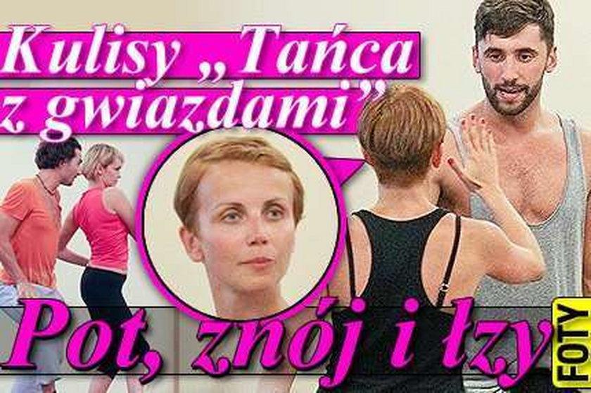 """Kulisy """"Tańca z gwiazdami"""": Pot, znój i łzy"""