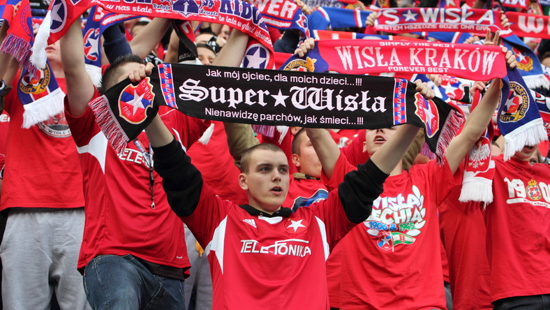 Kibice Wisły Kraków