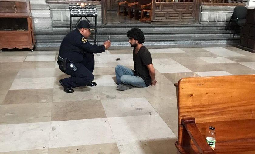 Meksyk. Sprawca ataku na księdza to chory psychicznie Rene Silva