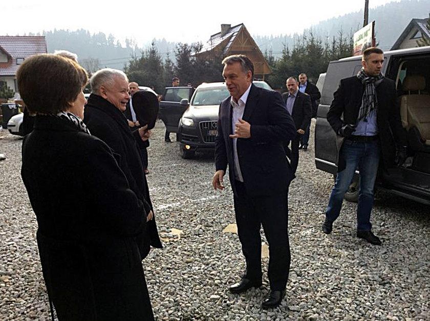 Jarosław Kaczyński i Wiktor Orban