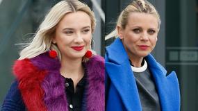 Natalia Nykiel i Maria Sadowska w kolorowych płaszczach. Która wypadła lepiej?