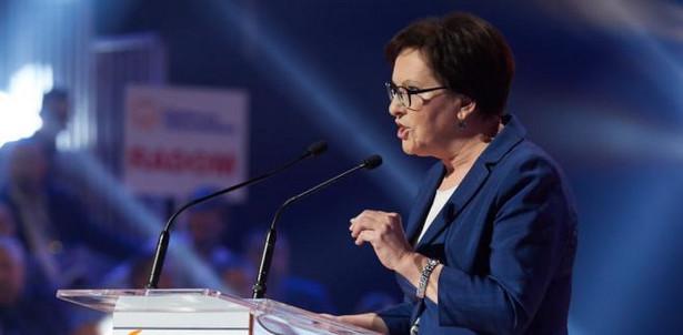 Posłanka PO, była premier Ewa Kopacz, PAP/Adam Warżawa