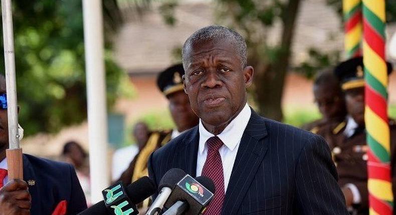 Vice president, Amissah Arthur