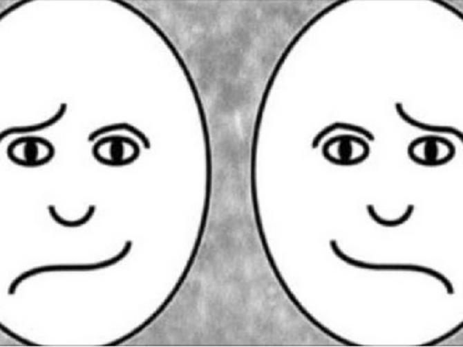 Od ova dva lica izaberite ono koje izgleda SREĆNIJE: A mi ćemo vam otkriti kako vaš mozak radi