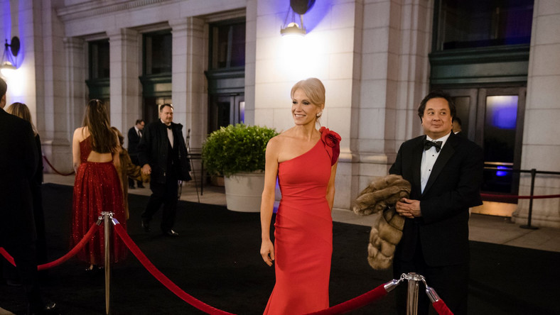 Kellyanne and George Conway in the Oprah for POTUS blogpost