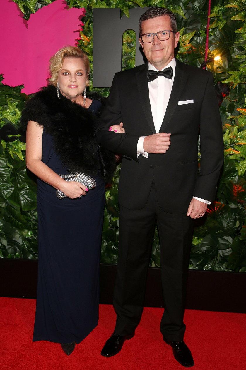 Katarzyna Bosacka z mężem Marcinem