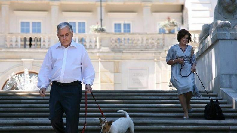 Prezydencka para rozpacza po stracie psa