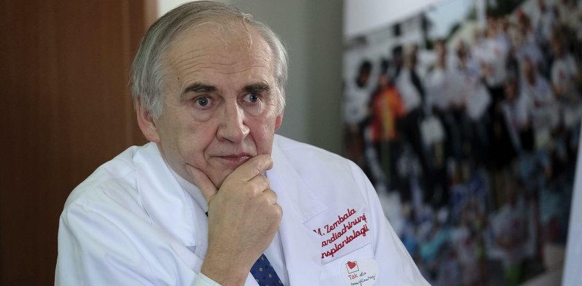 Kardiochirurdzy wściekli na legendę. Czym podpadł im prof. Zembala?