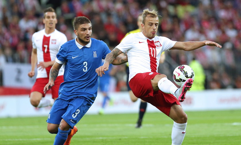 Polska Grecja mecz towarzyski