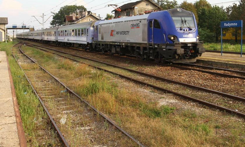 W Radymnie pociągi Intercity zatrzymują się...