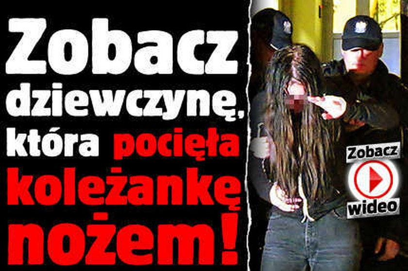 Zobacz dziewczynę, która pocięła koleżankę nożem! WIDEO