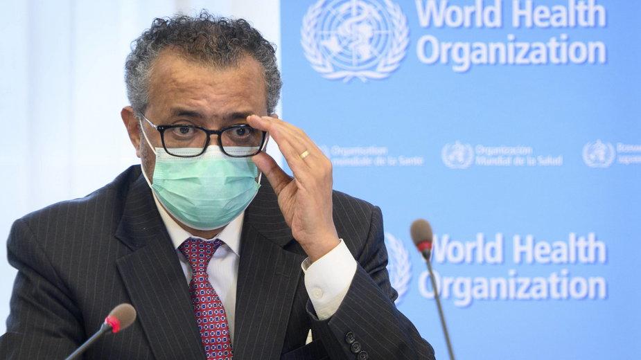 Tedros Adhanom Ghebreyesus, szef Światowej Organizacji Zdrowia