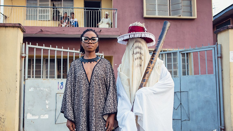 Behind-the-scene photos of Asa's 'Eyo' video shoot