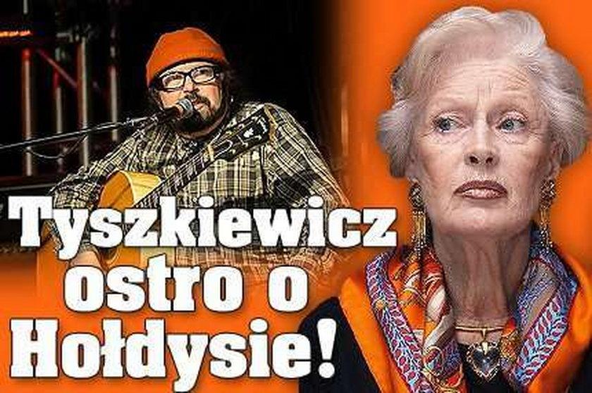 Tyszkiewicz ostro o Hołdysie!