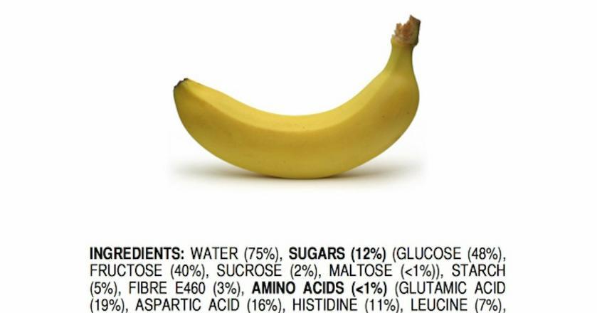Banan rozpisany na czynniki pierwsze