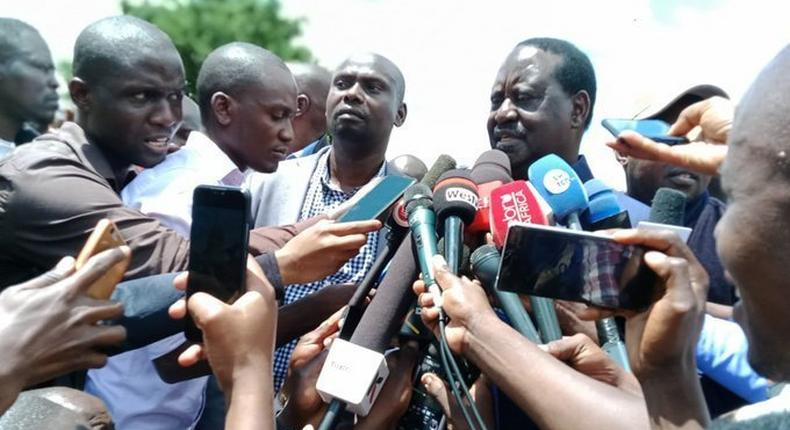 Let's protect our bedroom - Raila's special message to Kibra as by-election heats up