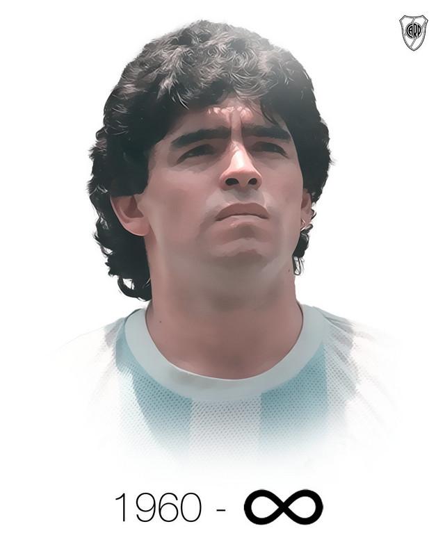 Maradona River Plata