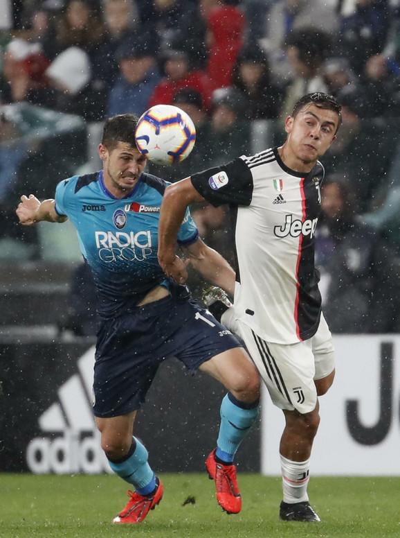 Fudbaleri Atalante nisu uspeli da trijumfuju u Torinu