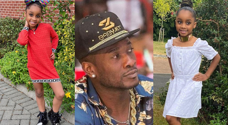 """Daddy loves you"": Asamoah Gyan celebrates his daughter on her birthday"