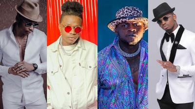 Diamond, Otile, Rayvanny and Khaligraph dominate Soundcity MVP Awards Nominees List