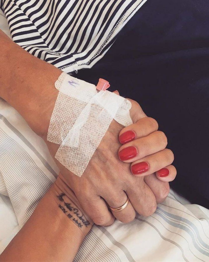 Mama Edyty Górniak w szpitalu