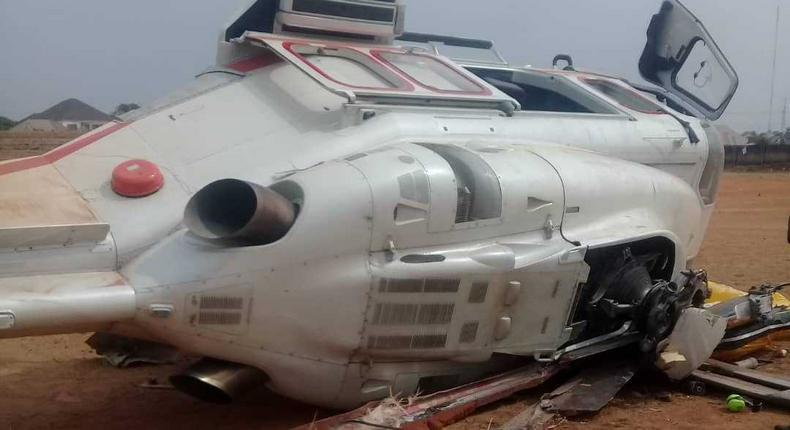 Vice-President Osinbajo's chopper crash-lands in Kogi [Punch]