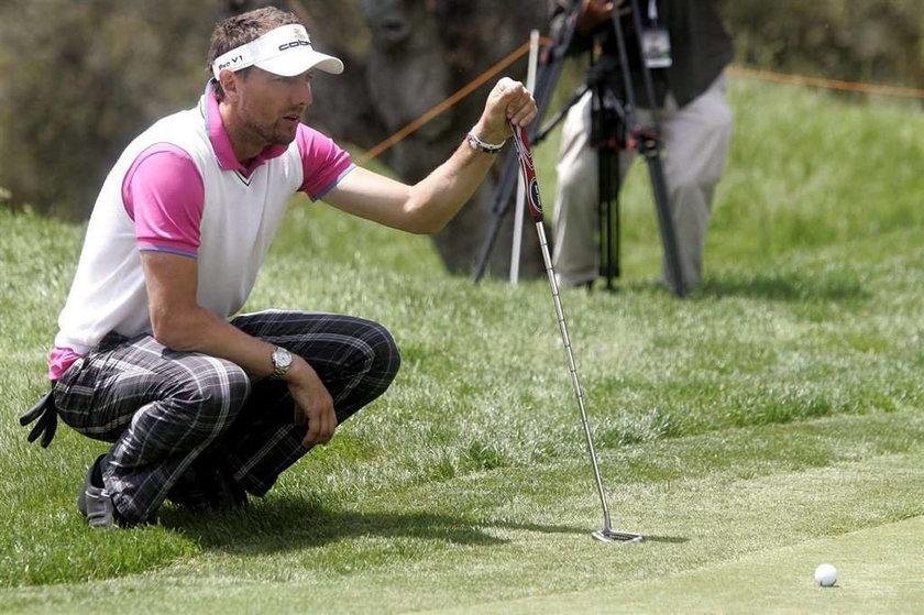 Jerzy Dudek wziął udział w turnieju golfa