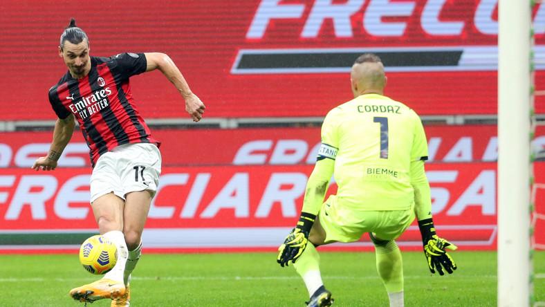 Zlatan Ibrahimovic i Alex Cordaz