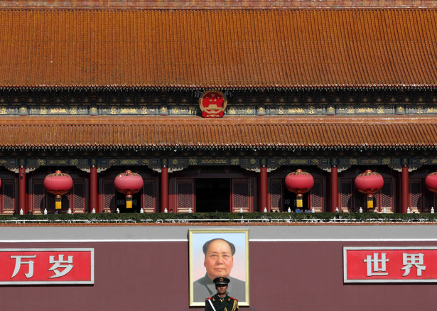 Chiny, portret Mao Zedonga
