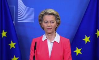 Von der Leyen opuszcza szczyt UE. Miała kontakt z osobą zakażoną Covid-19