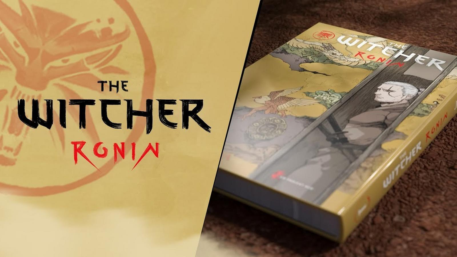 The Witcher: Ronin - Geralt w nietypowym wydaniu z rekordem na Kickstarterze