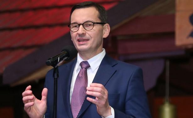 Mateusz Morawiecki szczególnie akcentował rolę transformacji energetycznej, która – jak mówił – jest wyzwaniem zarówno dla Polski, jak i Japonii.