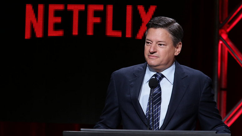 Netflix's Chief Content Officer Ted Sarandos [The Hollywood Reporter]