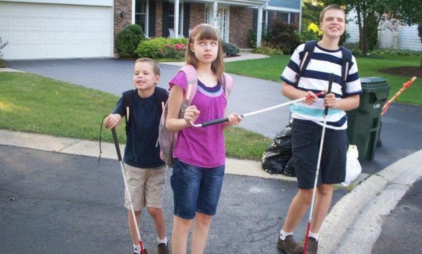 Elisabeth, James i Christopher