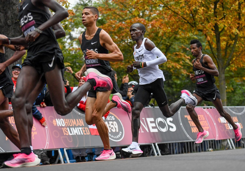 No limits for Eliud Kipchoge as he takes Vienna by storm at the Ineos 159 Challenge