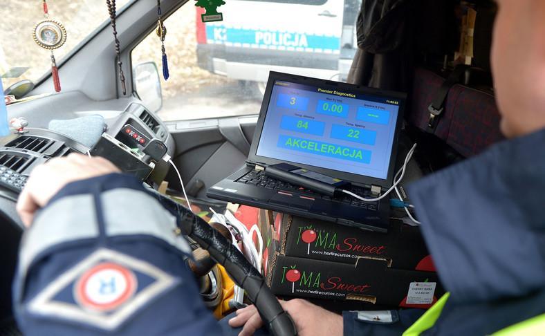 Brak urządzenia nie oznacza bezradności policjanta