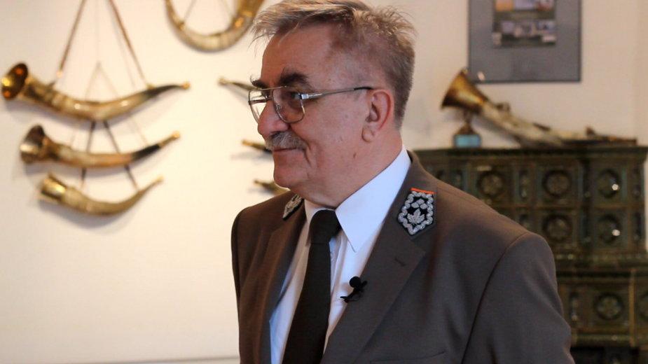 Jan Kosiorowski, szef Regionalnej Dyrekcji Lasów Państwowych w Krakowie