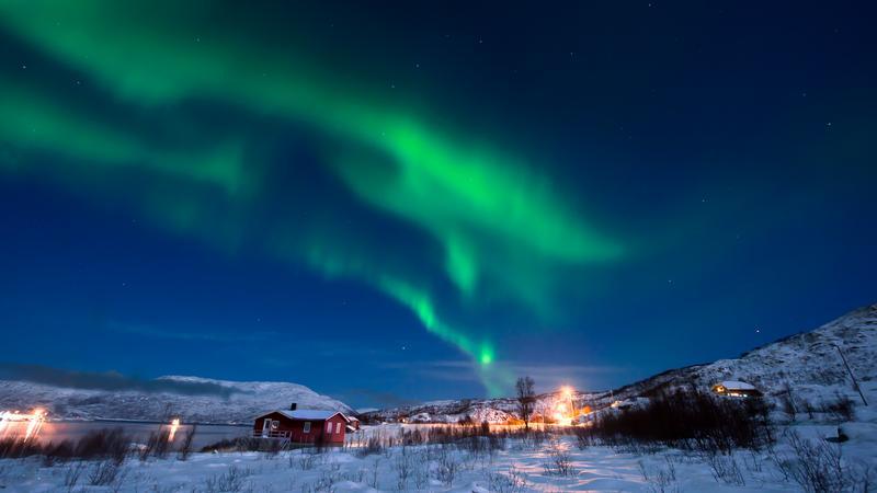 Zorza polarna, Tromso