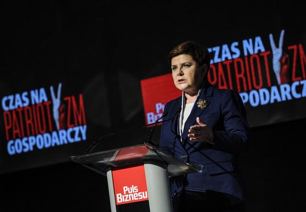 Premier zaznaczyła, że program, z którym PiS szło do wyborów, akcentował także solidaryzm społeczny