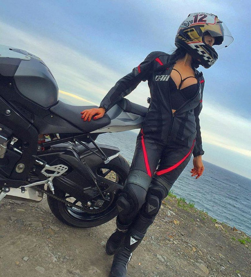 Zginęła najseksowniejsza motocyklistka Rosji