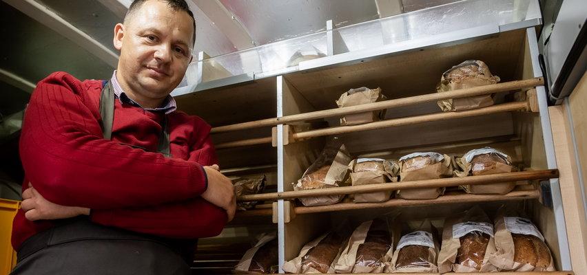 Pan Krzysiek to piekarz na złoty medal. Jego chleby podbijają różne części świata