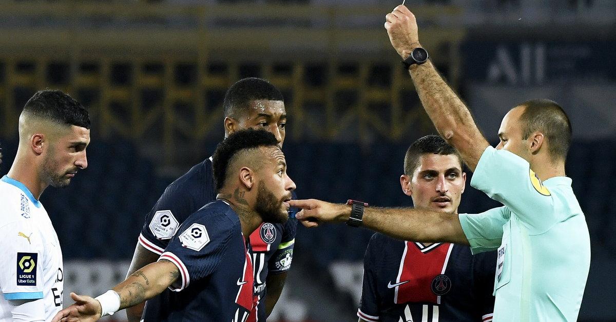 Ligue 1: PSG - Marsylia. Rasistowski komentarz powodem wielkiej kłótni? - Sport