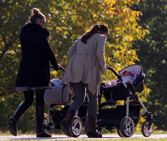 Naknada za porodilje umanjena je prošle godine