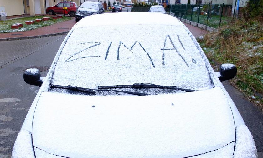 Zima na Warmii i Mazurach. Mroźnie, ale słonecznie