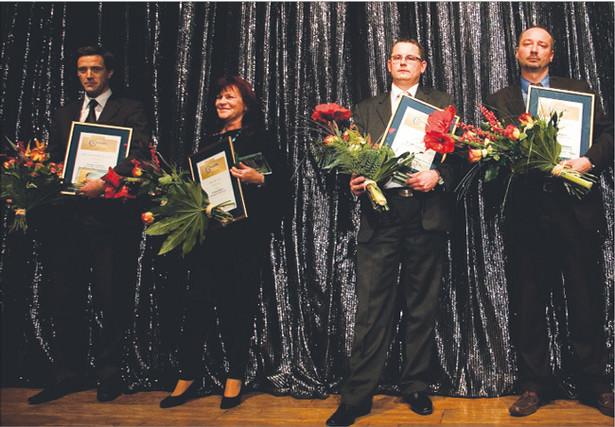 Przedstawiciele najlepszych w ogólnopolskim rankingu firm mikro, małych i średnich Fot. Wojciech Górski