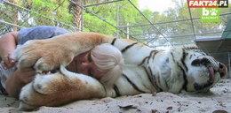 Przyjaźnią się z dzikimi zwierzętami. Nie wiedzą co im grozi