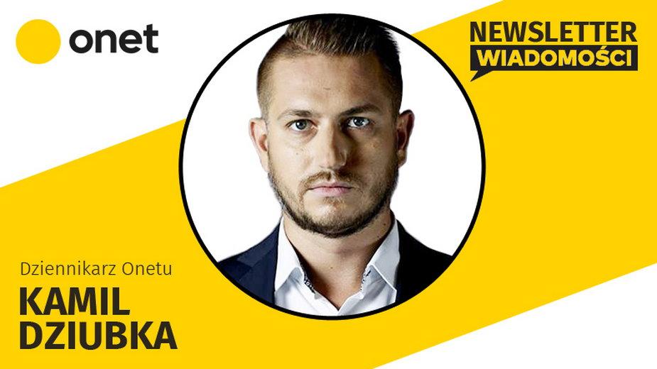 Autorem dzisiejszego newslettera jest Kamil Dziubka